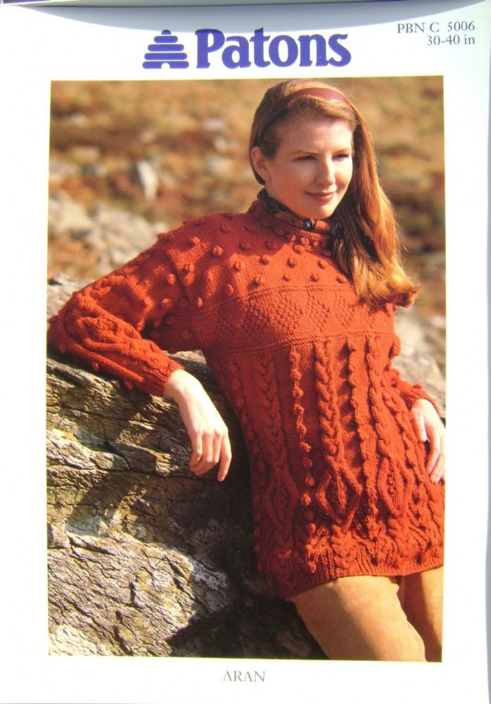 Patons Knitting Pattern 5006